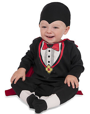 Tiny Vampire Infant Toddler Boys Count Dracula Halloween Costume