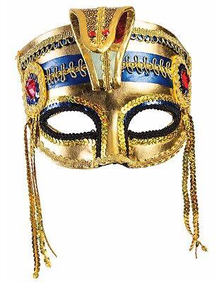 Mummy Mask Costume (Egyptian Adult Emperor Empress Halloween Mummy Costume)