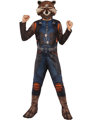 Guardians Of The Galaxy Vol. 2 Rocket Waschbär Jungen Halloween (Waschbär Halloween Kostüm)