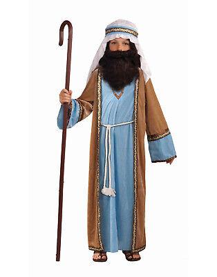Child Jesus Deluxe Biblical Joseph Nativity Shepherd Boys Costume - Small - Shepherd Costumes