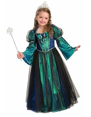 Twilight Princess Maiden Girls Royal Queen Gown Dress Costume ()