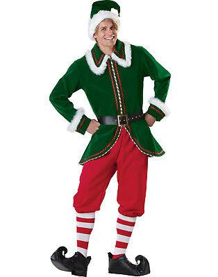 Elfen Weihnachtsmann Helfer Erwachsene Herren Weihnachten Halloween - Incharacter Elf Kostüm
