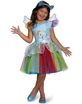 My Little Pony Rainbow Dash Tutu Kleid Mädchen Halloween Kostüm