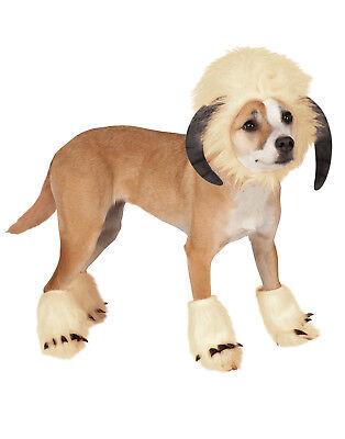 Dog Pet Puppy Star Wars Wampa Horn Hat Halloween - Horn Dog Kostüm