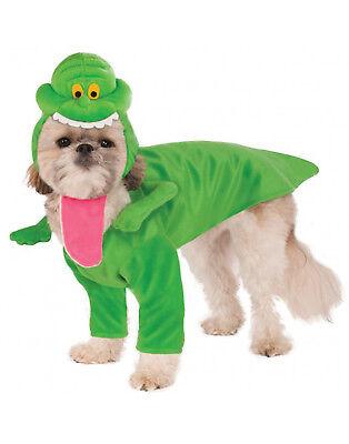 Slimer Dog Costume (Ghostbusters Pet Costume Slimer Onionhead Little Spud Dog/Cat)