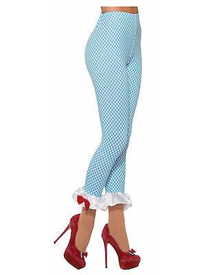 Farm Girl Womens Adult Dorothy Wizard Of Oz Costume Accessory Leggings-Std - Dorothy Adult Costumes