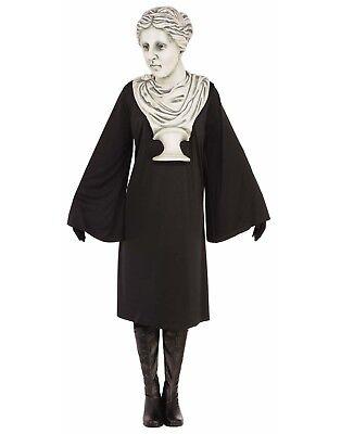 Venus Bust With Mask Womens Adult Roman Greek Halloween Costume-Std