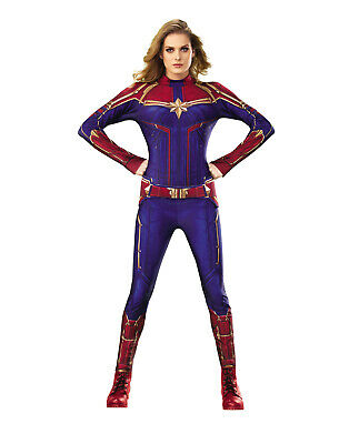 Captain Marvel Womens Adult Ms Marvel Superhero Costume Suit