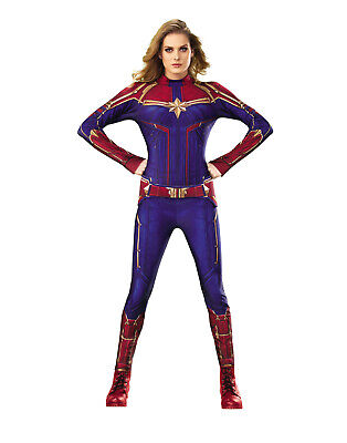 Captain Marvel Womens Adult Ms Marvel Superhero Costume Suit](Marvel Women Costume)