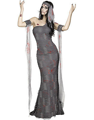 Zombie Mummy Womens Undead Egyptian Queen Halloween Costume