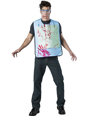 Scary Dentist Halloween Costume (Nitrous Nightmare Adult Costume Scary Dentist Patient Halloween)