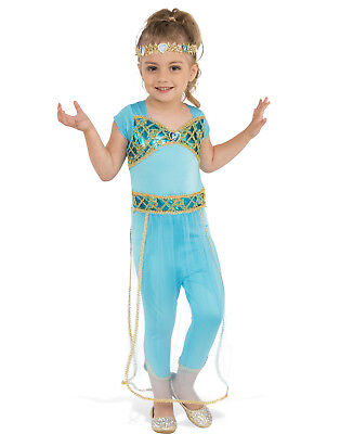 Arabian Princess Jasmine Girl Child Genie Halloween Costume