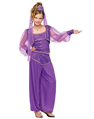 Genie Halloween Costumes For Girls (Dreamy Genie Child Girls Halloween)