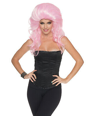 Pink Drag Queen Style Beehive Big Hair Jeffery Star - Pink Beehive Wig