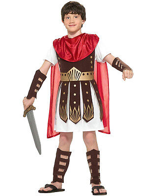 Roman Warrior Spartan Gladiator Greek Soldier Childs - Roman Costume Child