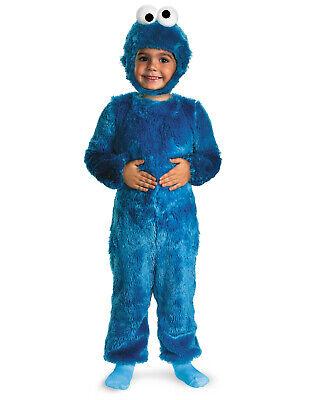 Sesame Street Cookie Monster Toddler Boys Comfy Fur Halloween Costume