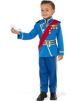 Royal Prince Charming Boys Fairy Tale King Halloween Costume