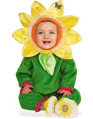 Sunflower Baby Infant Toddler Girls Yellow Flower Halloween Costume - Baby Girl Flower Halloween Costume