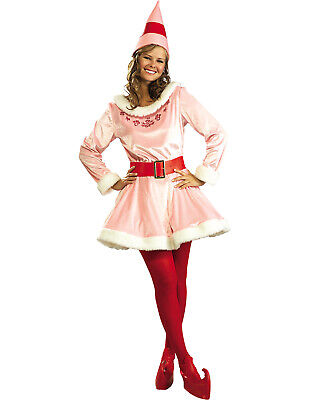 Elf The Movie Buddy'S Girlfriend Jovi Christmas Costume Pink Elf Costume