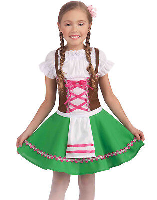 German Girl Costume Child (Hansel Gretel Child German Beer Maid Oktoberfest Girls Halloween)