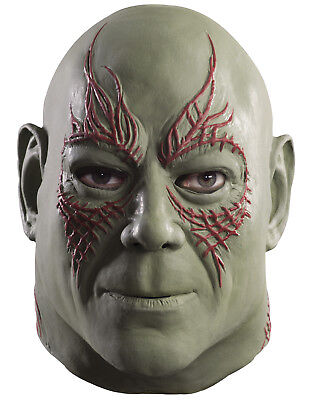 Guardians Of The Galaxy Drax The Destroyer Movie Latex Masks Halloween Costumes