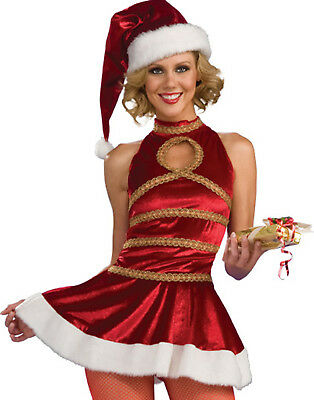 Santas Sexy Helper Mrs. Santa Claus Women Christmas Holiday Party (Santas Helper Sexy Kostüm)