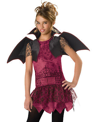 Vampire Witch Twilight Girls Teens Kids Dracula Halloween Costumes - Girls Vampire Halloween Costumes