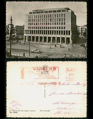 Mayfairstamps Morocco PC Barbers Livorno Piarra Grande Postcard wwo_56929