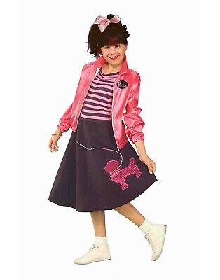 Baby Poodle Skirt Halloween Costume (Nifty Fifties Girls Child Poodle Skirt Dancer Halloween)