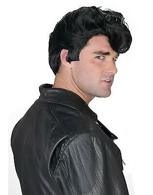 Adult 50s Greaser Grease Danny Zuko Costume Wig (Danny Zuko Grease Costume)