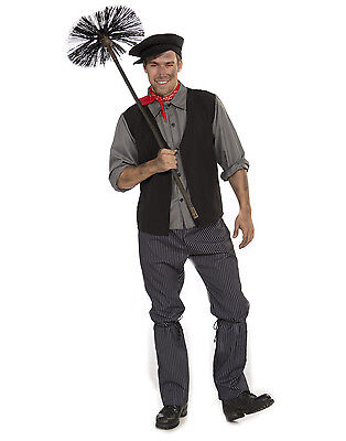Chimney Sweep - Mary Poppins - Adult Costume](Mary Poppins Costumes Adults)