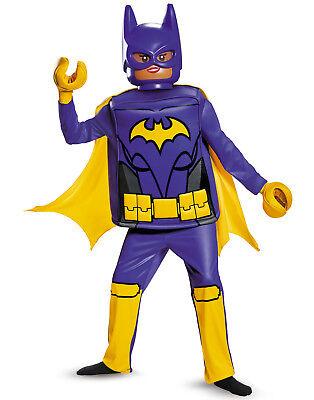 Batman Lego Movie Girls Deluxe Batgirl Superhero Halloween Costume