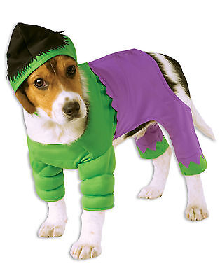 Avengers Incredible Hulk Marvel Comic Dog Costume Size Small NEW Rubies - Marvel Dog Kostüm