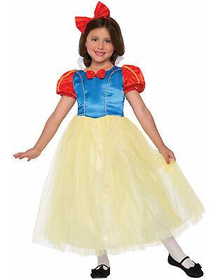 Klassisch Schneewittchen Märchenprinzessin Mädchen Halloween Kostüm