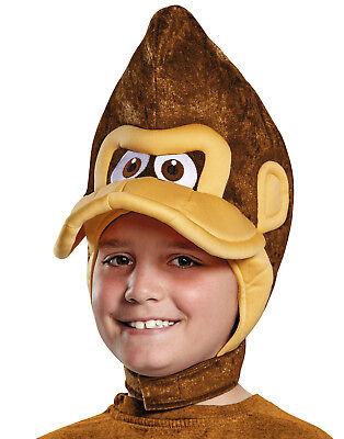 Donkey Kong Braun Affe Gorilla Affe Kinder Kostüm - Herren Donkey Kong Kostüm