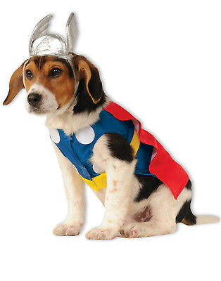Dog Superhero Pet Thor Jacket Halloween Animal - Thor Kostüm Hund