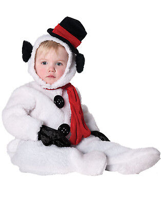 Holiday Christmas Frosty The Snowman Toddler Jumper Halloween Costume Baby-Xl