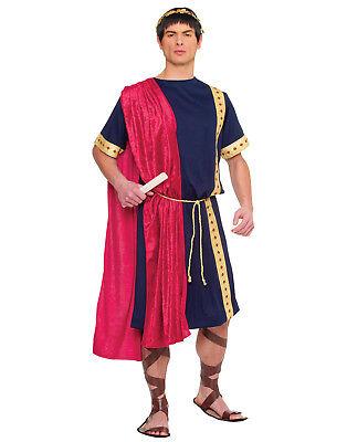 Römischer Senator Herren Erwachsene Griechisch Römisch Tunika Halloween