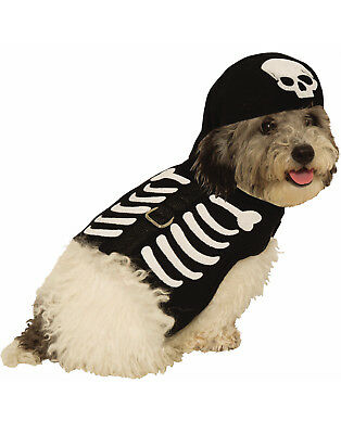 Skeleton Harness Pet Cute Bones Cat Dog Halloween Costume](Cute Skeleton Halloween Costumes)
