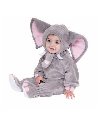 Elephant Unisex Infant Grey Cute Wild Animal Halloween - Cute Elephant Costume