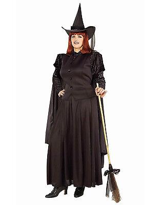 Erwachsene Klassisch Zauberer von oz Böse Hexe der West Kostüm (Hexe Von Der Zauberer Von Oz Kostüm)