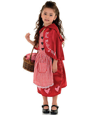 Little Red Riding Hood Toddler Girls Fairy Tale Halloween Costume](Little Red Riding Hood Halloween Costume Toddler)