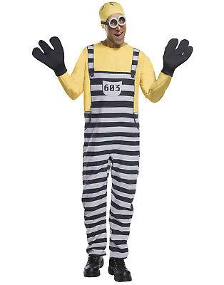 Ich - Einfach Unverbesserlich 3 Herren Jailed Minion Tom Erwachsene Halloween
