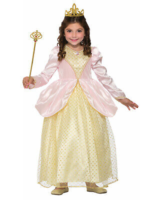 Gilded Rose Princess Girls Child Royal Queen Halloween Costume