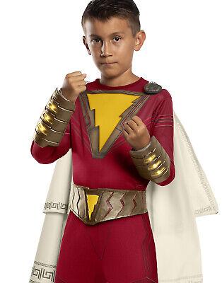 Shazam Superheld Film Leuchtend Kinder Dc Kostüm Gürtel Handschuh - Shazam Superheld Kostüm