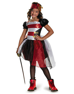 Pirate Buccaneer Sailor Child Halloween Girls Costume – Toddler (3T-4T)