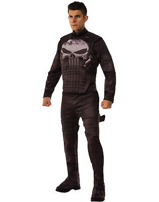 Punisher Marvel Comics Frank Castle Lizenzierte Herren Halloween (Kostüm Castle)