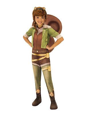 Eichhörnchen Mädchen Marvel Steigende Mädchen Kind Superheld Halloween Kostüm