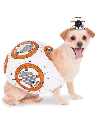 Star Wars The Force Awakens Bb-8 Haustier Hund Katze Halloween Kostüm