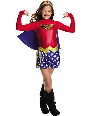 hen Wonder Woman Kinder Superheld Halloween Kostüm (Halloween-kostüme Superhelden-mädchen)